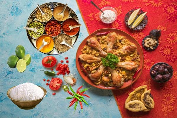 Chicken Tikka Biryani Restaurant Style- ingredient